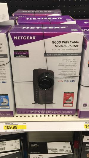 Wifi router and modem in one N600 for Sale in Chantilly, VA
