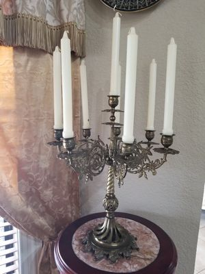 Big bronze candelabra for Sale in Miami, FL
