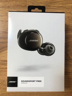 Bose Soundsport Free Wireless Earphones for Sale in Salem, MA