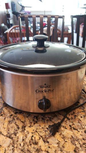Rival 7-qt. Crock Pot for Sale in Pflugerville, TX