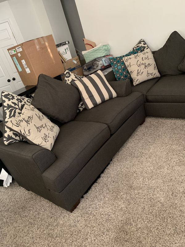 Love seat and sofa couch