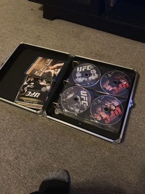 Used, Ufc dvd collection for Sale for sale  Newark, NJ