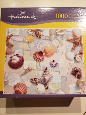 Shell puzzle....1000 pieces for Sale in Pompano Beach, FL
