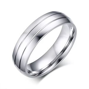 Unisex Silver Engagement /Wedding Ring- Code JU10 for Sale in Miami, FL