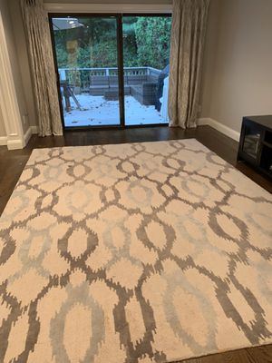 West elm rug 9x12 for Sale in Jericho, NY