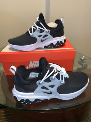 Brand new men's nike presto react size 9.5 only Price is firm for Sale in The Bronx, NY