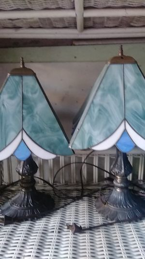 Two vintage lamps 60 OBO for Sale in Drexel Hill, PA