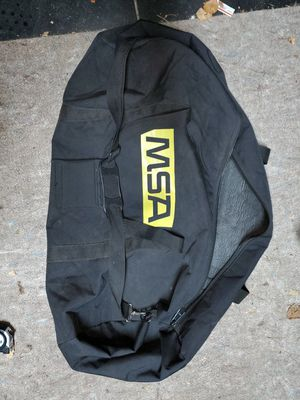 MSA soft lined SSBA carrying case/duffel bag for Sale in Virginia Beach, VA