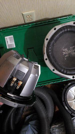 "2 10"" sony explode XS-L106P5 for Sale in Prattville, AL"