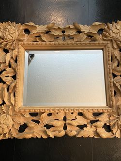 Hand Carved Antique Mirror for Sale in New York,  NY