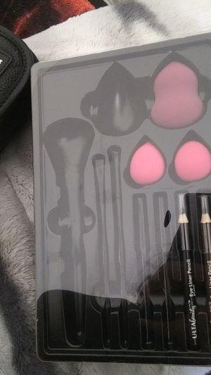 Ulta Beauty Blender with 2 Eyeliner Pencil/New Maybelline Dream Nude AirFoam Foundation for Sale in Phoenix, AZ