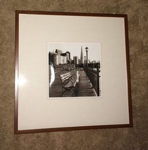 Beautiful Framed & Matted Picture (approx. 22 in. x 22 in.) for Sale in Chantilly, VA