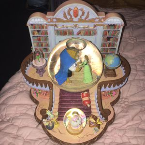 Beauty and the Beast Musical Snow Globe for Sale in San Jose, CA