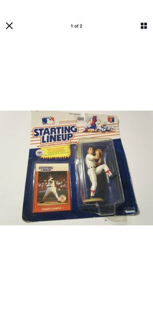 Vintage Roger Clemens Starting Lineup Figure and Baseball Card !! for Sale in Plainfield, IL