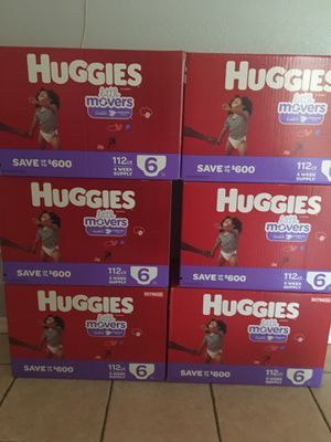 Huggies little movers for Sale in Riverside, CA