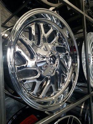 20x9 XD Rims Fury chrome wheels 6x139 6x135 for Sale in Tempe, AZ