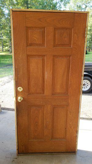 Solid Oak Front Door for Sale in Helena, GA