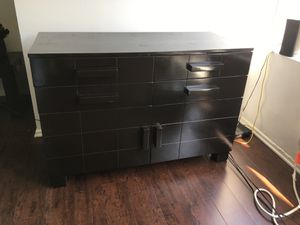 Wood Dresser Office Storage Stand for Sale in Los Angeles, CA