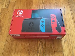 Brand New Nintendo Switch (Neon Red/Blue) Current v2 Model for Sale in Saratoga Springs, UT