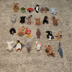 24 Beanie Babies Gen 4,5,6 for Sale in Hemet,  CA