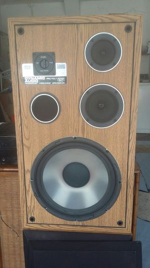 Speakers Dynamic Audio pro poly series 1901 for Sale in Davenport, FL