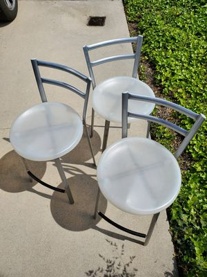 Stool chair (set of 3) for Sale in Arcadia, CA