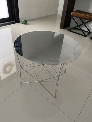 West Elm side tables chrome for Sale in Miami, FL