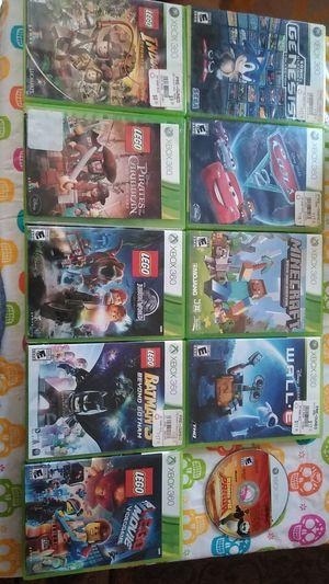 Kids xbox 360 game set for Sale in Corona, CA
