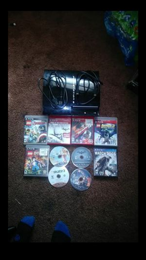 Ps3 console and games for Sale in Los Angeles, CA