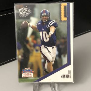 ELI MANNING 🏈📈 2004 Press Pass ROOKIE FOOTBALL CARD - New York Giants + Ole Miss for Sale in Pompano Beach, FL