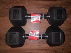 15 pound dumbbell set for Sale in Annandale, VA