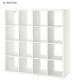 White ikea bookcase for Sale in PA, US
