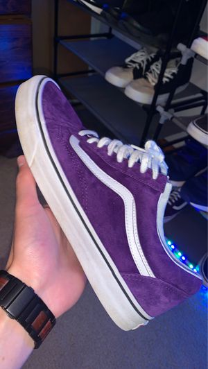 Purple vans for Sale in NEW KENSINGTN, PA