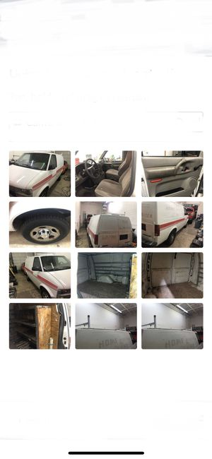 2005 Chevy Astro cargo van auto ac only 145k miles and all closed up on sides priced to sell for Sale in Mokena, IL