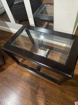 Wood & glass coffee table for Sale in Woodbridge, VA