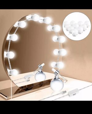 10Pcs Makeup Mirror Vanity LED Light for Sale in Sands Point, NY
