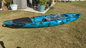 Riptide Lighting 13' fishing Kayak with Paddle for Sale in Austin, TX