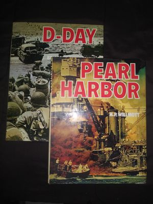 D-Day and Pearl Harbor books for Sale in Mesquite, TX