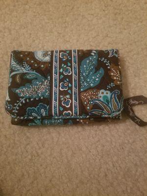 Genuine vera Bradley wallet with coin purse- blue/brown for Sale in Arlington, VA