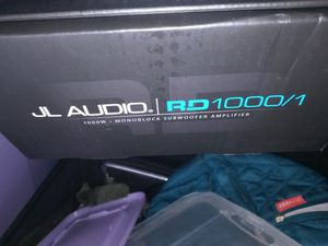 Jl audio rd/1 amp for Sale in Ontario, CA