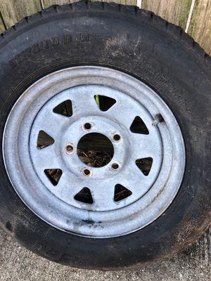 Utility trailer tire rim size 13 for Sale in Dunedin, FL