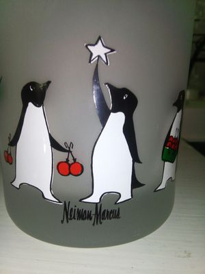 Neiman Marcus Penguin Glasses for Sale in Naugatuck, CT
