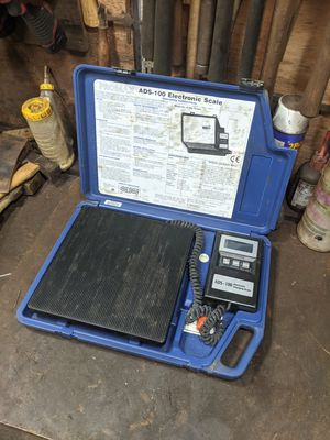 Promax ADS-100 electronic refrigerant scale 0-100 kg 0-199 lbs for Sale in Concord, CA