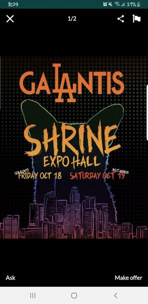 4 Galantis Tickets For tonight for Sale in Whittier, CA