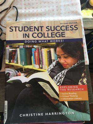 Student success in college book for Sale in San Antonio, TX