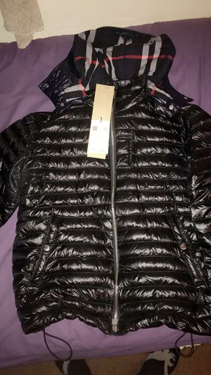 Burberry Jacket Size US 40 for Sale in Maryland City, MD