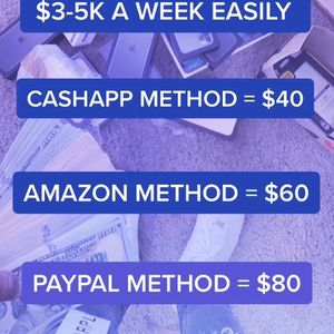 Cashapp , Paypal , Amazon Methods for Sale in Hemet, CA