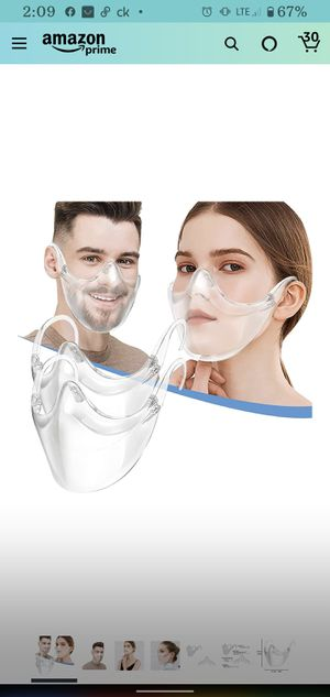 Clear face masks for Sale in Weldon Spring, MO