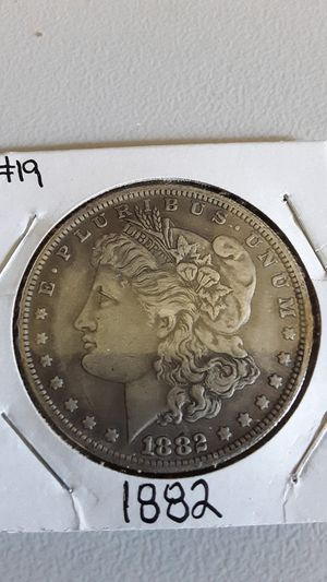 1882 Morgan Silver Dollar Coin for Sale in Greenville, OH