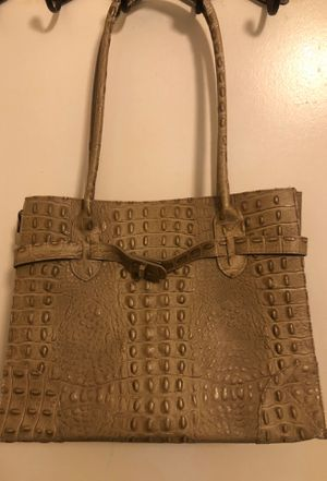 Italian Genuine Leather Handbag - Good Condition for Sale in SIENNA PLANT, TX